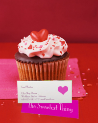 Go mini or go home mini business cards 25 off at overnight prints mini business cards on cupcake reheart Image collections