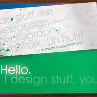 business cards simple design