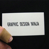 simple graphic design business cards