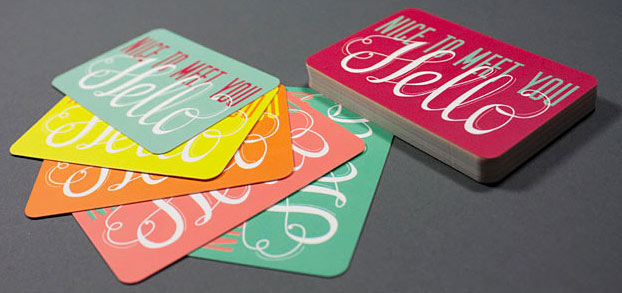 business cards design ideas