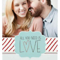 single photo christmas cards vistaprint
