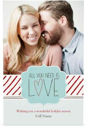 single photo christmas cards vistaprint - Custom Printing Deals