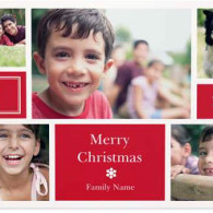 multi-photo christmas cards vistaprint