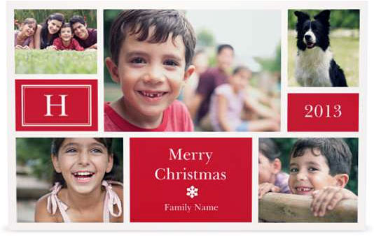 Vistaprint Christmas Cards