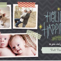 multi-photo holiday cards vistaprint