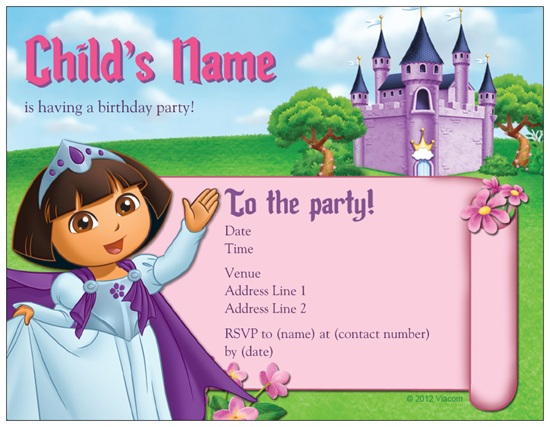 Best Custom Discount Birthday Party Invitations Inexpensive – Vista Print Birthday Party Invitations