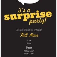 surprise birthday invites from vistaprint