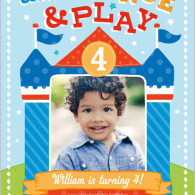custom printed birthday invites for boy with photo shutterfly