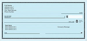 vistaprint classic blue checks