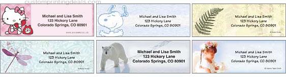 cheapest return address labels