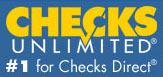 checks unlimited logo