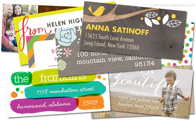 best custom discount address labels