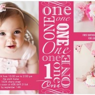 Best custom discount birthday party invitations inexpensive girl first birthday invites pink tiny prints filmwisefo