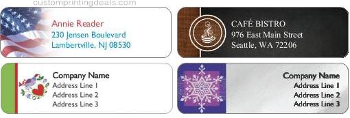 discount return address labels 123print