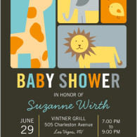 baby shower shutterfly jungle theme
