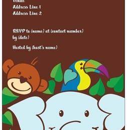 baby shower invites jungle vistaprint - Custom Printing Deals
