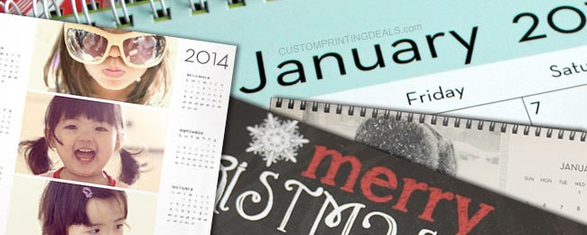 5 Best Discount Personalized Photo Calendar Printing Sites Online