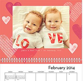 best custom photo calendars