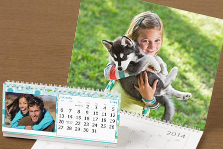 sample vistaprint calendar