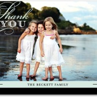 personalized photo thank you notes