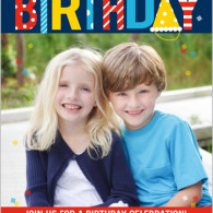 twins birthday invites one photo shutterfly