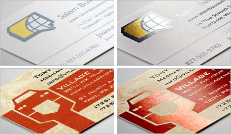 Vistaprint metallic finish business cards up to 40 off metallic business cards vistaprint reheart Choice Image