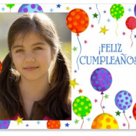 cumpleanos feliz free printabl birthday card with photo