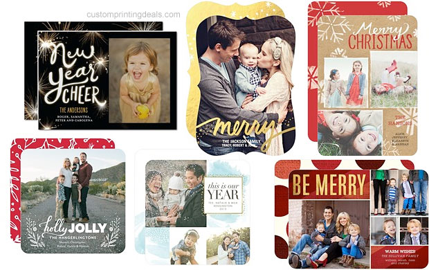coupons for holiday cards from tiny prints