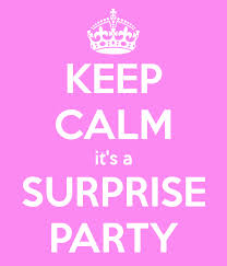 keep calm surprise party