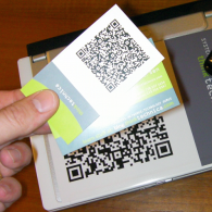 print qr code business cards