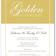 50th wedding anniversary party invitations_no_photo