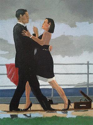 anniversary waltz invitation