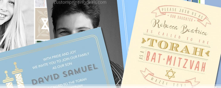 custom bar mitzvah invitations inexpensive