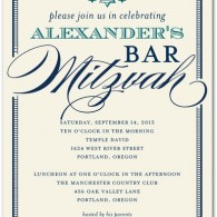 bar mitzvah invitations inexpensive best