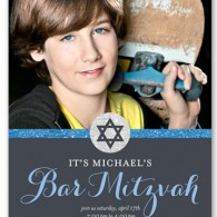 bar mitzvah invitations inexpensive photo