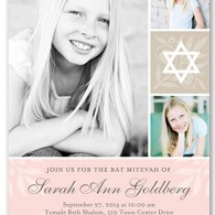 bat mitzvah invitations design idea photos