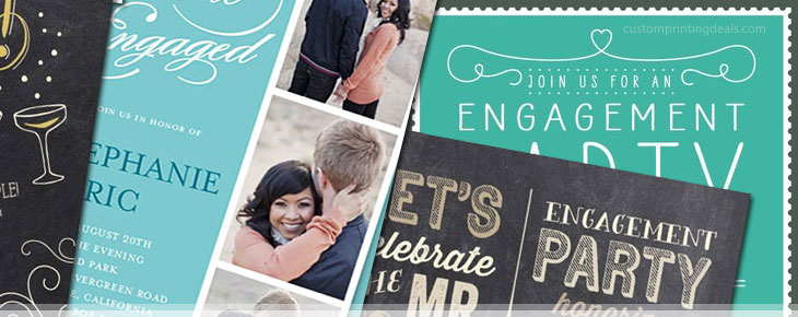 best inexpensive engagement party invitations online