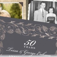 32 Best Wedding Anniversary Party Invitations: Personalized & Inexpensive