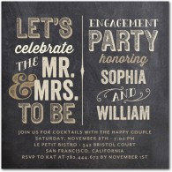 personalized engagement party invitations wedding paper divas mr mrs