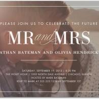 engagement party photo invitations wedding paper divas