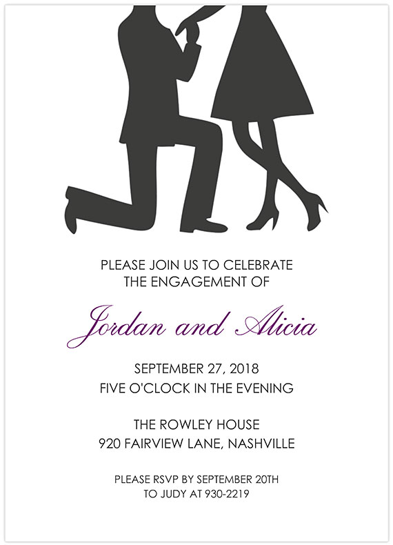 34 Best Engagement Party Invitations Personalized Inexpensive