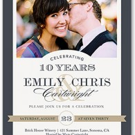 personalized anniversary party invitations shutterfly