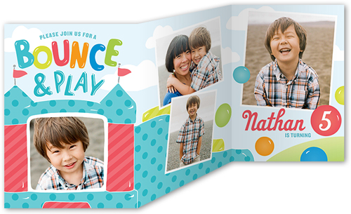 shutterfly birthday invitation bounce party