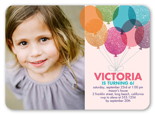 Shutterfly Birthday Party Invitations Coupon: 20-50% Off