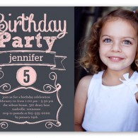 shutterfly birthday invitation girl