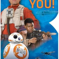 star wars force awakens thank you cards