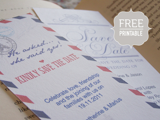 8 Free Printable Save the Dates But Should You Print Your Own – Diy Wedding Save the Date Ideas
