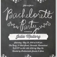 bachelorette party invitations wedding diva floral