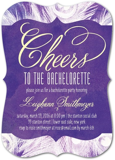 cheers bachelorette party invites
