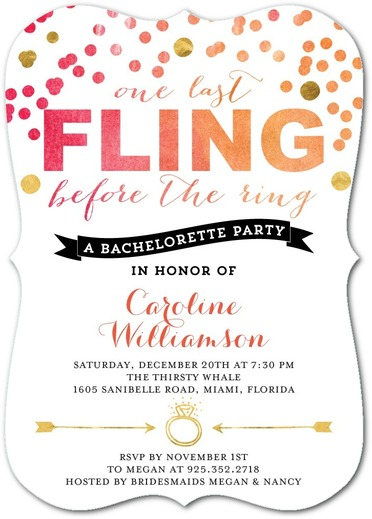 The Best Custom Bachelor Party Invites Online Are At Wedding Paper Divas Use A Coupon For Up To 30 Discount